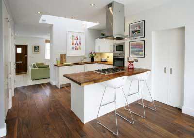 fotos de cozinha americana