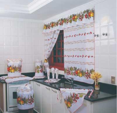 fotos de cortinas para cozinhas