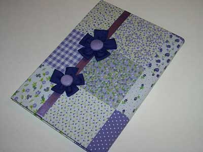 como fazer artesanato com tecidos