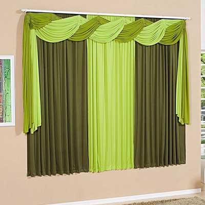 30 modelos de cortinas modernas fotos ideias inspira o - Modelos de cenefas para cortinas ...
