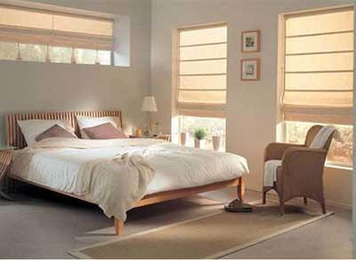 fotos de cortinas romanas