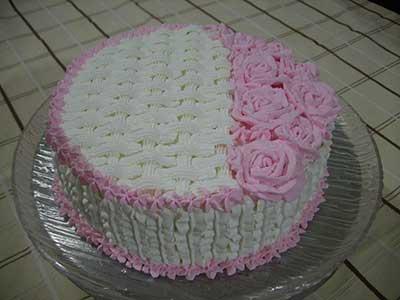 dicas de bolos de chantilly