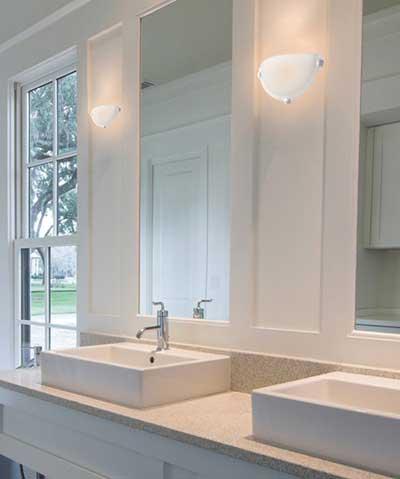 30 Luminárias Para Banheiros Espelho Pendentes Fotos