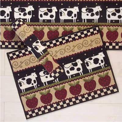 modelos de tapetes para cozinha