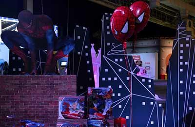 Decoração do Homem-Aranha para Festa