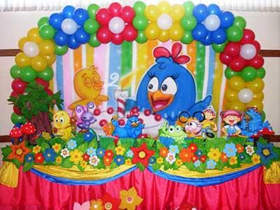 mesa da galinha pintadinha