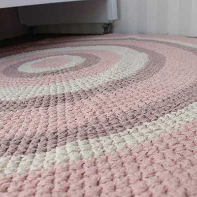 modelos de tapetes para quarto infantil