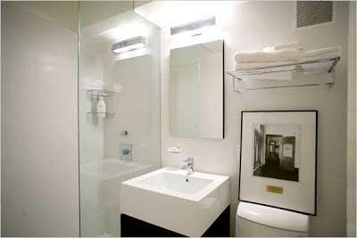 luminárias para banheiros
