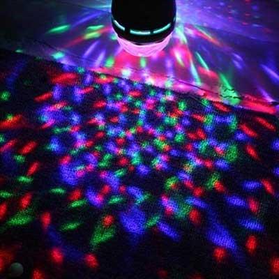 iluminação de festa