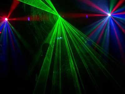 dicas de iluminação de festa