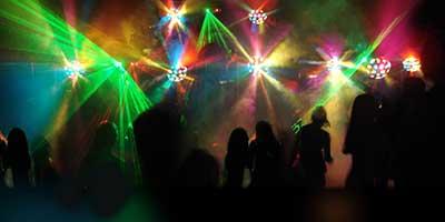 ideias de iluminação de festa