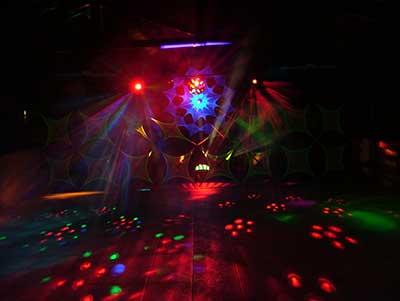 imagens de iluminação de festa