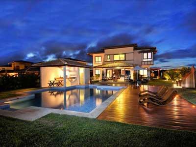 imagem de casa de luxo