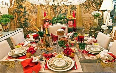 fotos de mesa de jantar