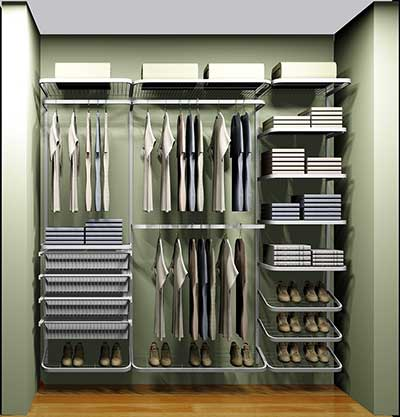 como decorar um closet