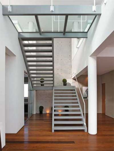 Favoritos 20 Modelos de Escadas de Ferro: Fotos, Ideias, Dicas ZS51