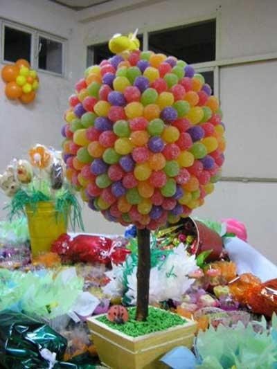 Super Mesa de Guloseimas para Festa de Aniversário Infantil JA21