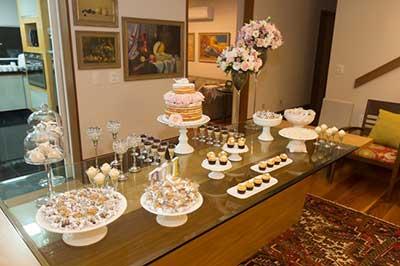 Decora o para festa de noivado fotos dicas imagens - Mesa de navidad decorada ...
