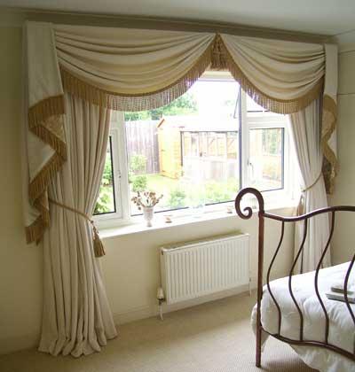 30 modelos de cortinas para decorar quartos Cortinas romanticas