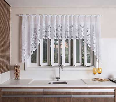 Cortinas para cozinha fotos dicas modelos - Modelos cortinas salon ...