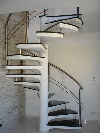 escadas caracol