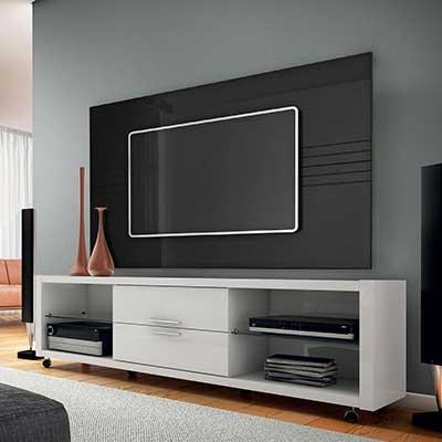 imagem de rack de tv