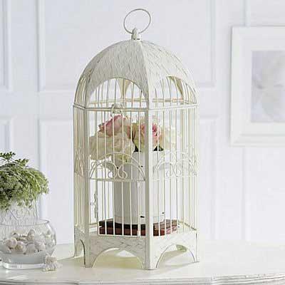 como decorar com gaiolas
