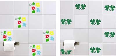 fotos de adesivos para banheiros