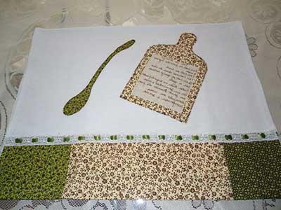 fotos de artesanato com tecidos
