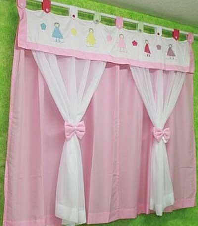 Cortinas infantis para decorar quarto fotos modelos dicas - Modelos de cortinas infantiles ...