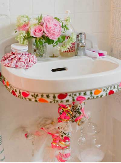 imagens de adesivos para banheiros