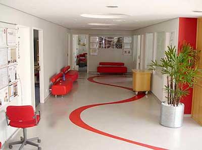 piso com adesivo
