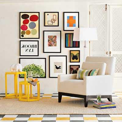 30 dicas de decora o para parede com fotos de fam lia - Fotos para decorar ...