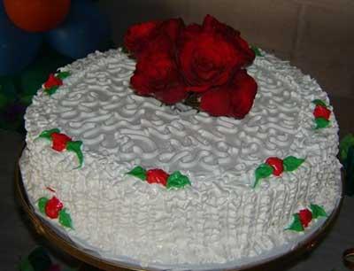 imagens de bolos de chantilly