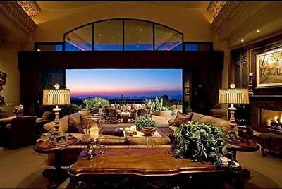 decoração de casa de luxo