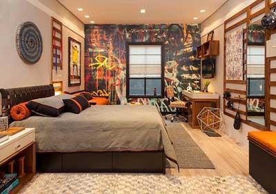 imagem de tapete para quarto