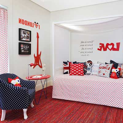 decoração de quartos para jovens