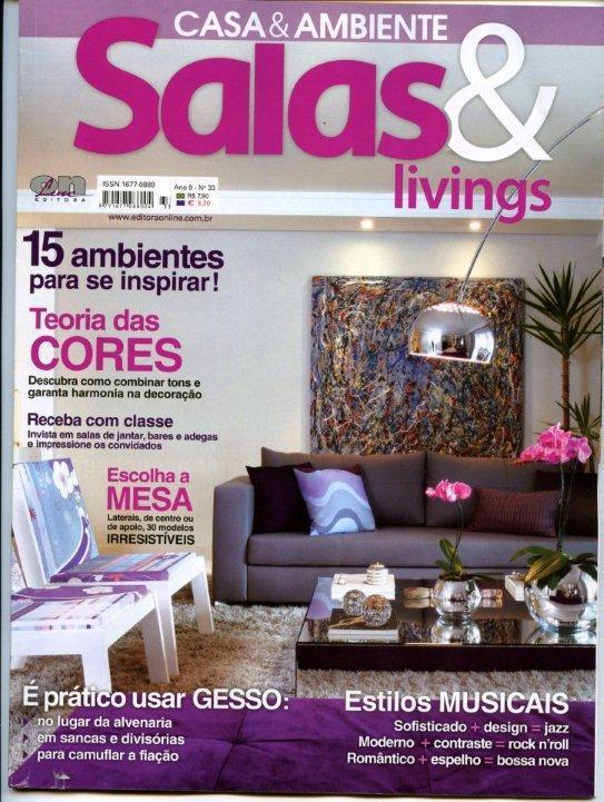 revista decoracao de interiores apartamentos:Revistas de Decoração Online de Casa e Festa