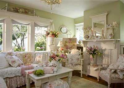 Como fazer decora o proven al fotos dicas imagens for Living estilo romantico