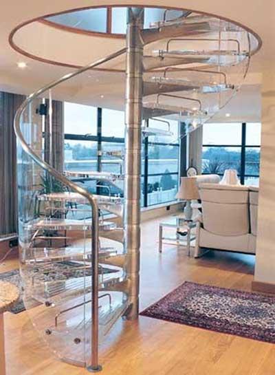 modelos de escadas caracol