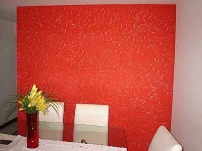 paredes com texturas