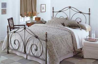 decoração com camas antigas