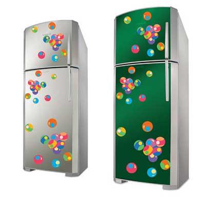 fotos de geladeiras decoradas