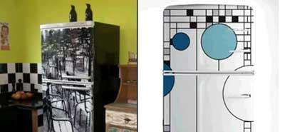 imagens de geladeiras decoradas