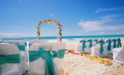 imagens de casamento na praia