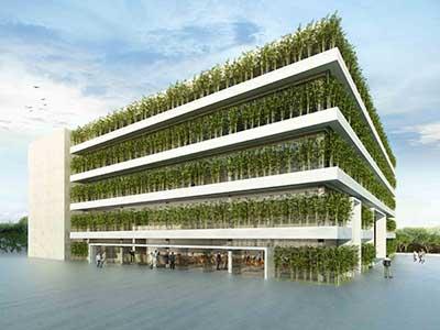 fotos de arquitetura sustentável