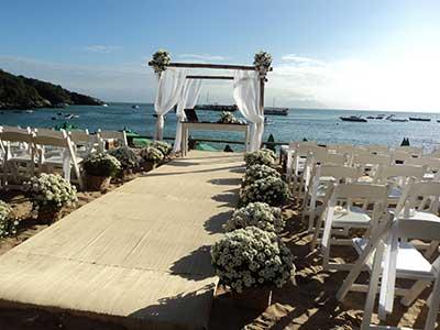como decorar casamento na praia