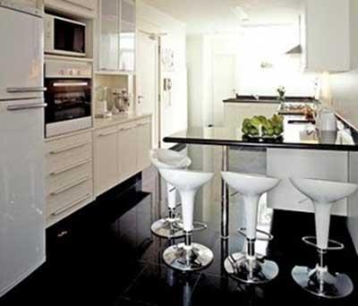 fotos de bancos para cozinha