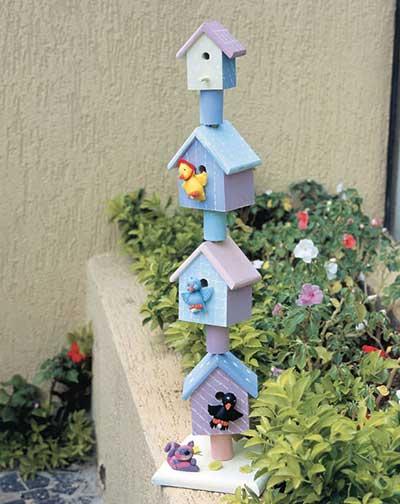 enfeites para jardim de garrafas pet50 Dicas de Enfeites para Jardim