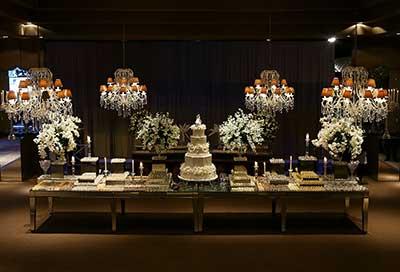 mesa de luxo